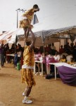 Binta students performing Atilogwu dance