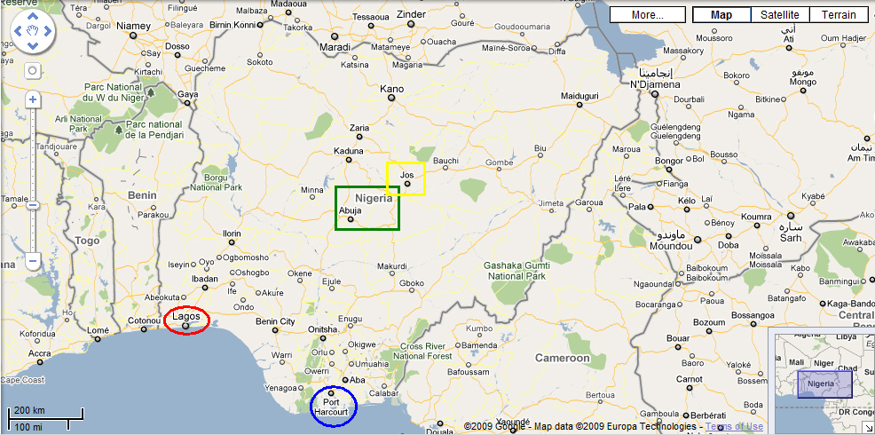 achieves 100 mapping target for nigeria others