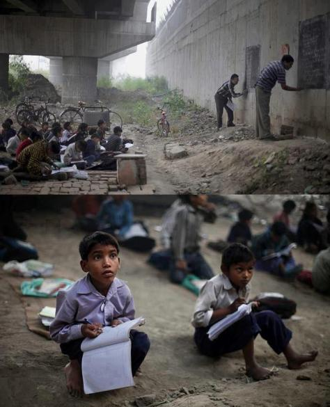 The will to succeed drives these kids to learn
