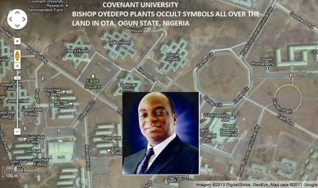 Nigerias Biggest Pastor Erects Occult Symbols All Over University