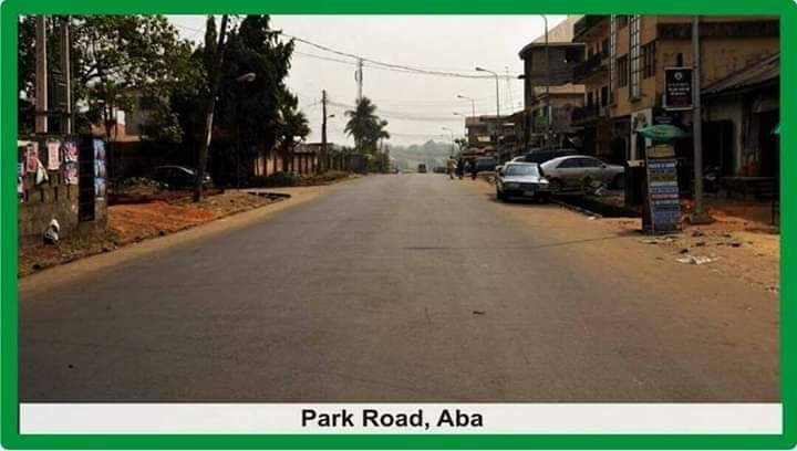 Image result for Park Road/George's Street, Aba